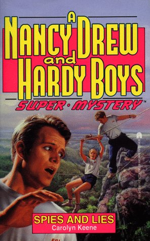 cover of a nancy drew hardy boys mystery mash up